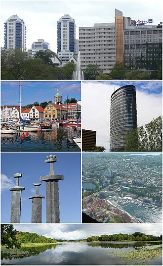 Stavanger - Image: Stavangercollage 01