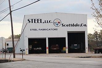 Scottdale, Georgia - Steel LLC fabrication facility in Scottdale