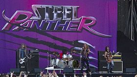 Steel Panther Sauna Open Airissa 2010.