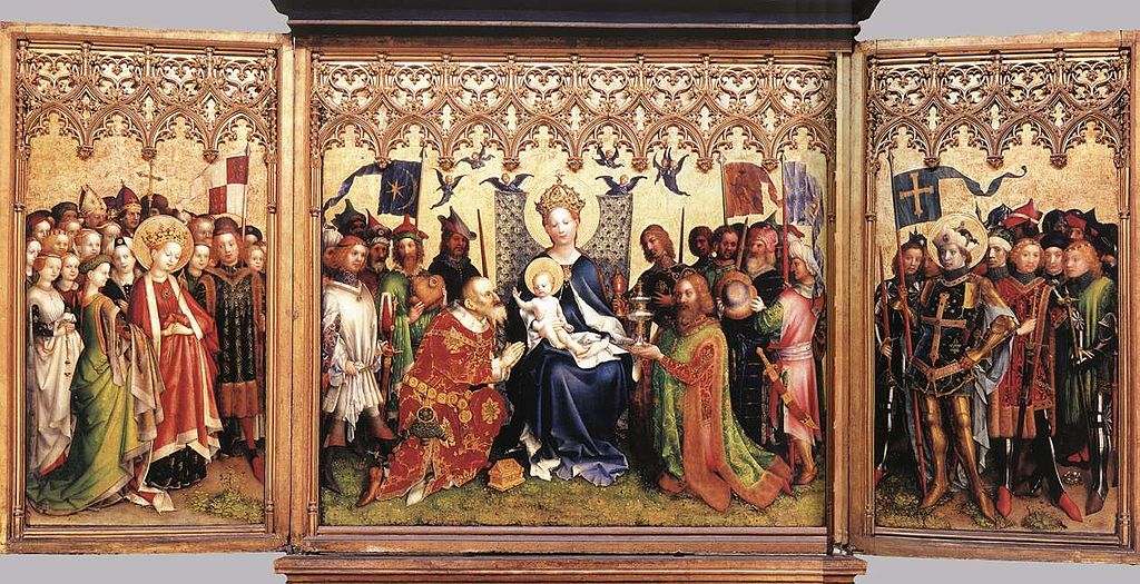 Stefan Lochner - Altarpiece of the Patron Saints of Cologne - WGA13341