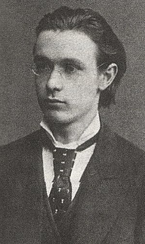 Rudolf Steiner - Rudolf Steiner as 21-year-old student (1882)