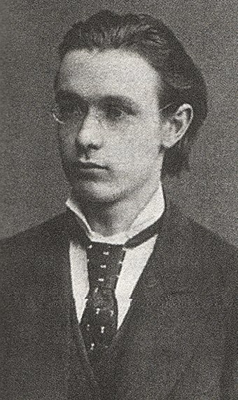 Rudolf Steiner as 21-year-old student (1882)