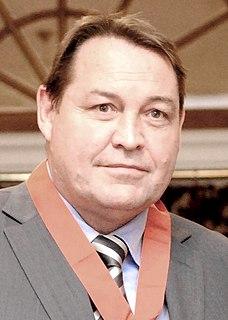 Steve Hansen New Zealand rugby union player