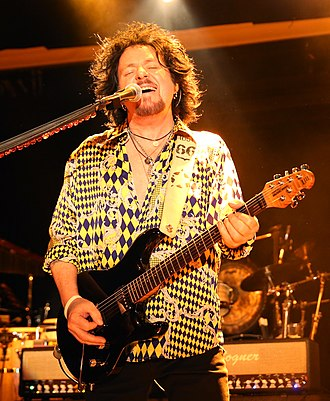 Steve Lukather - Lukather performing with Toto, 2017