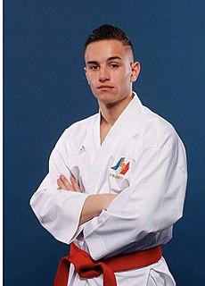 Steven Da Costa French karateka