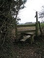 Stile leading off Church Lane - geograph.org.uk - 1182163.jpg
