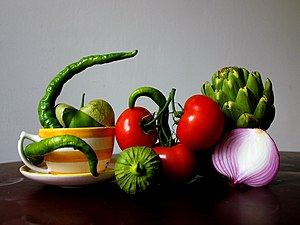 Still life photography - A modern-day still life photo with red tomatoes