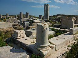 Stoa de Filip de Delos