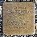 Stolperstein Altonaer Str 26 (Hansa) Irma Freundlich.jpg