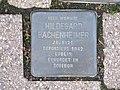 Stolperstein Hildegard Bachenheimer, 1, Fritz-Appel-Straße 8, Bad Wildungen, Landkreis Waldeck-Frankenberg.jpg