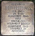 Stolperstein Irma Herrmann Neidenstein.jpg