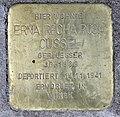 Stolperstein Nestorstr 7 (Halsee) Erna Recha Rosa Cussel.jpg