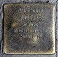 Stolperstein Warschauer Str 12 (Friedh) Eva Leder.jpg