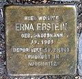 Stolperstein Weichselstr 28 (Neuk) Erna Ebstein.jpg