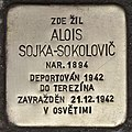 Stolperstein für Alois Sojka-Sokolovic (Prag).jpg