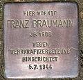 Stolperstein für Franz Braumann.JPG