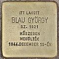 Stolperstein für György Blau (Budapest).jpg
