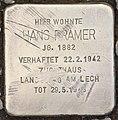 Stolperstein für Hans Pramer (Hallein).jpg