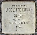 Stolperstein für Liselotte Erna Simon (Köln).jpg