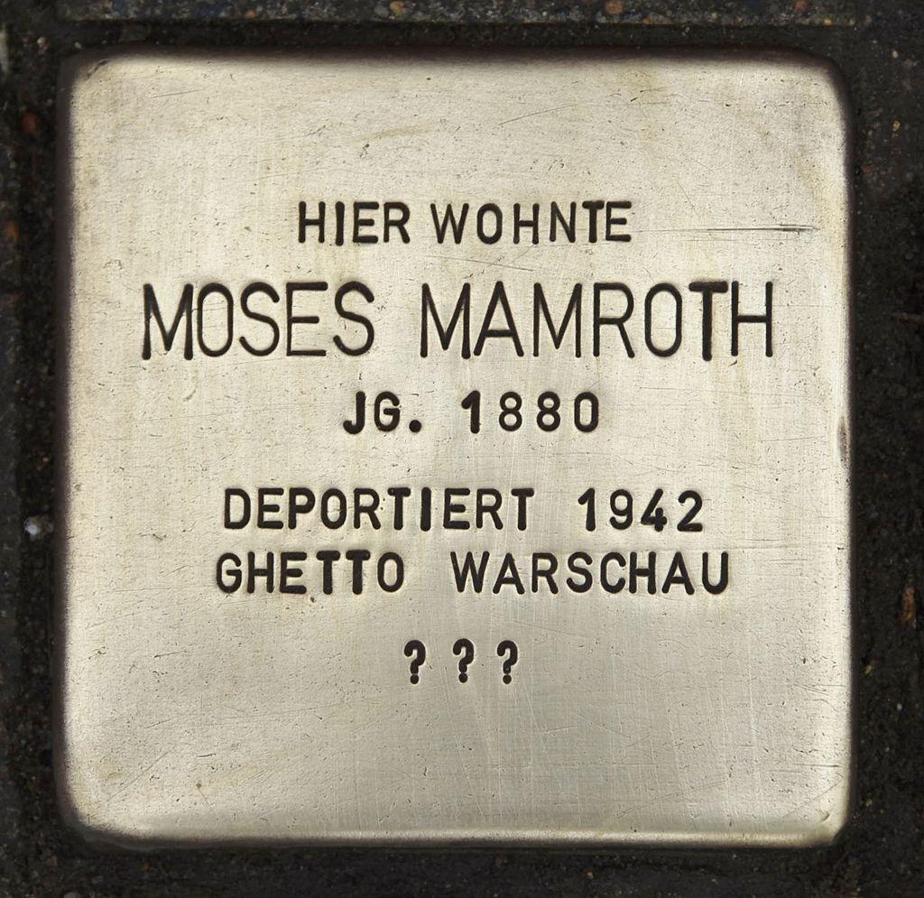 Stolperstein für Moses Mamroth.JPG