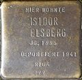 Stumbling block for Isidor Elsberg (Im Dau 12)