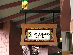 Disney's Grand Californian Hotel & Spa - Storytellers Cafe entrance