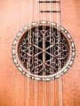 Stradivarius Guitar - 1700, rosette 2, National Music Museum, Vermillion.jpg