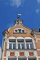 Stralsund, Apollonienmarkt 16, Giebel (2012-05-12), by Klugschnacker in Wikipdia.jpg