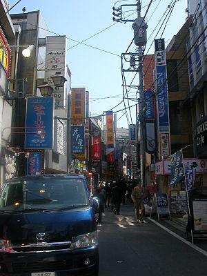 Takadanobaba - Street in Takadanobaba