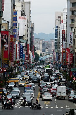 Street view of Ziyou Road, Taichung, Taiwan 台灣台中市自由路街景.jpg