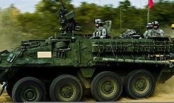 Stryker IFV Novo selo