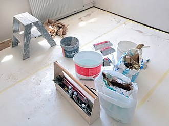 Plaster - Modern tools for plastering