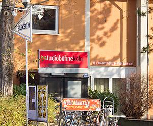 Studiobühne Köln - Entrance of the Studiobühne Köln