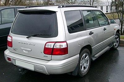 Subaru Forester - Wikiwand