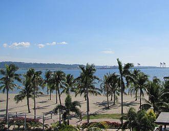 Subic, Zambales - Subic Bay boardwalk beach