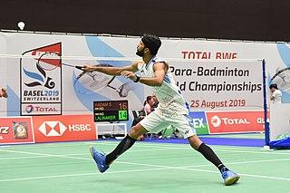 Sukant Kadam Indian para-badminton player (born 1993)