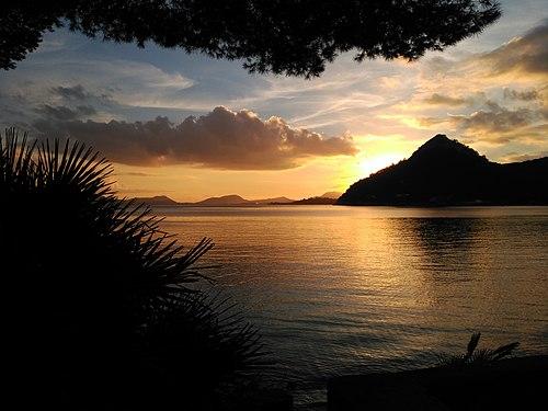 Sunset in the bay of Pollença.jpg