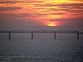 Sunset over Tay Rail Bridge - geograph.org.uk - 80090.jpg