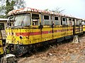 Suriname, train at abandoned station of Onverwacht.JPG