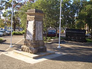 Sutherland, New South Wales - Sutherland War Memorial