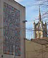 Sutton, Surrey, Greater London - Heritage Mosaic and Trinity Church.jpg