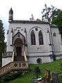 Svatý Jan pod Skalou, kaple svatého Maxmiliána, od západu (01).jpg
