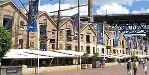 Sydney sandstone - The Rocks, Sydney