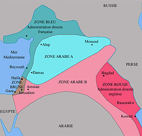 Image illustrative de l'article Accords Sykes-Picot