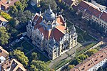 Szeged, Zsinagóga - légi fotó.jpg