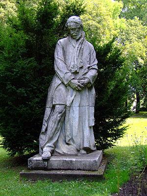 Bertalan Szemere - Monument of Bertalan Szemere in Dombóvár