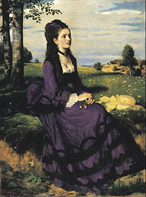 Pál Szinyei Merse - Image: Szinyei Merse, Pál Lady in Violet Google Art Project