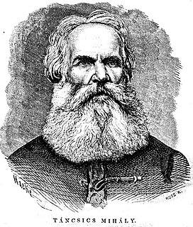 Mihály Táncsics Hungarian politician, writer