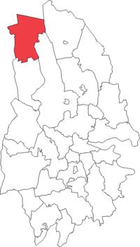 Hällefors købstad i Örebro amt