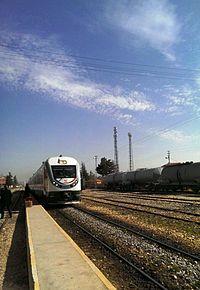 TCDD Toros Express approaching Eregli Station.jpg